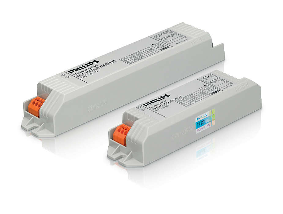 EB-Certalume for TL-D lamps