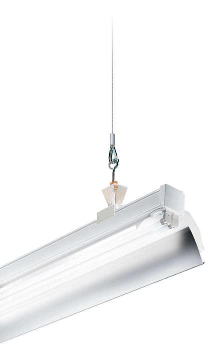 TTX400 TL5, GMX565-570 aluminum reflectors