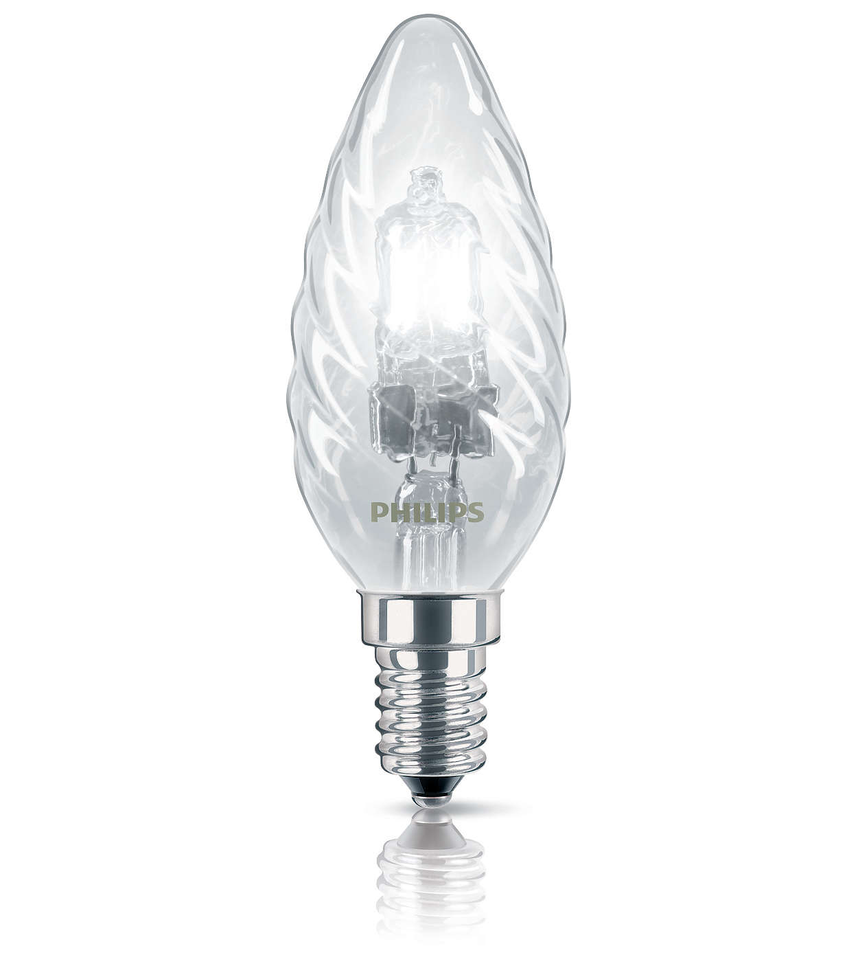 Halogen Classic Twisted Candle B35