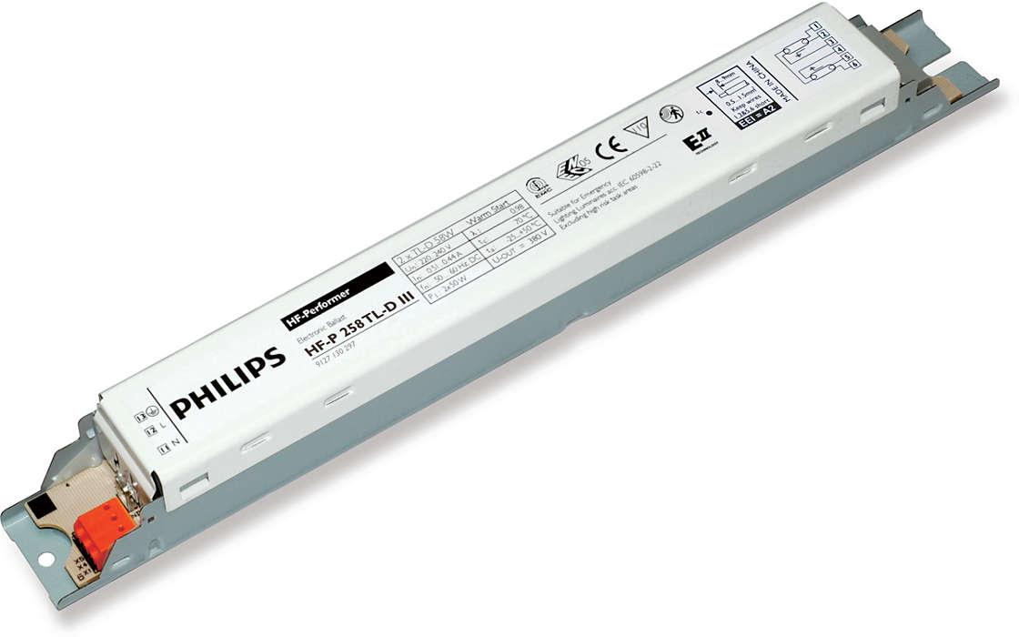 HF-Performer III для ламп TL-D