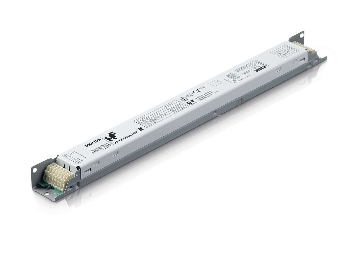 HF-Regulator II for TL5 lamps