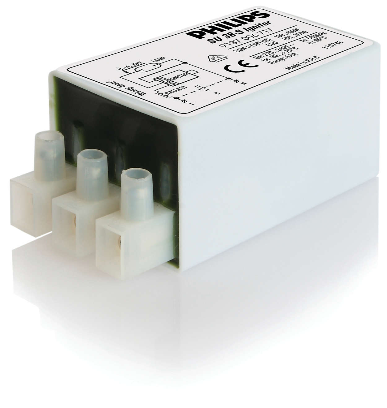 ИЗУ для разрядных ламп для схем последовательного подключ...
