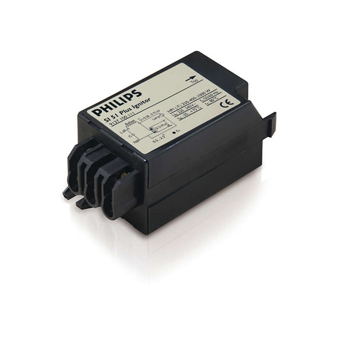 Electronic ignitor for HID lamp circuits