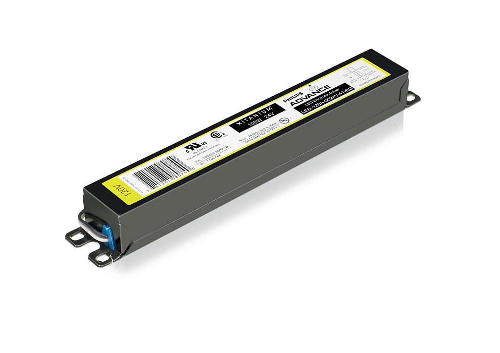 Xitanium LED Driver Outdoor Fixed (US)