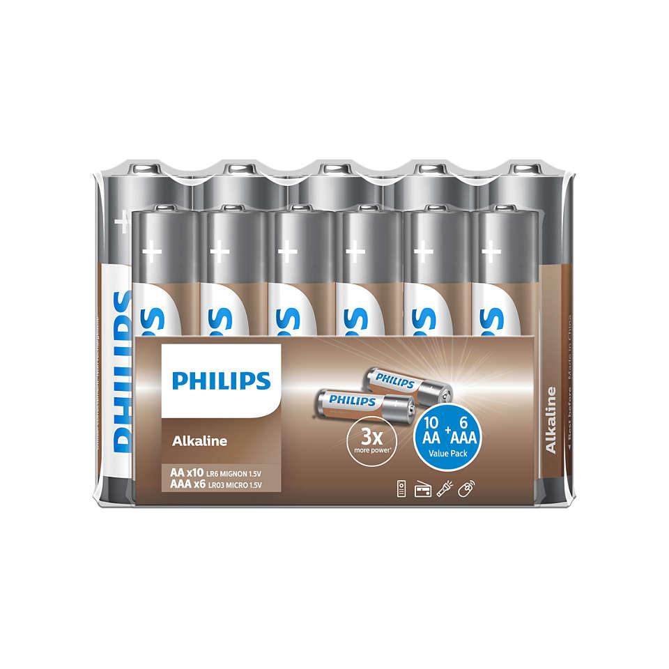 Chargez vos appareils avec Philips NRG!