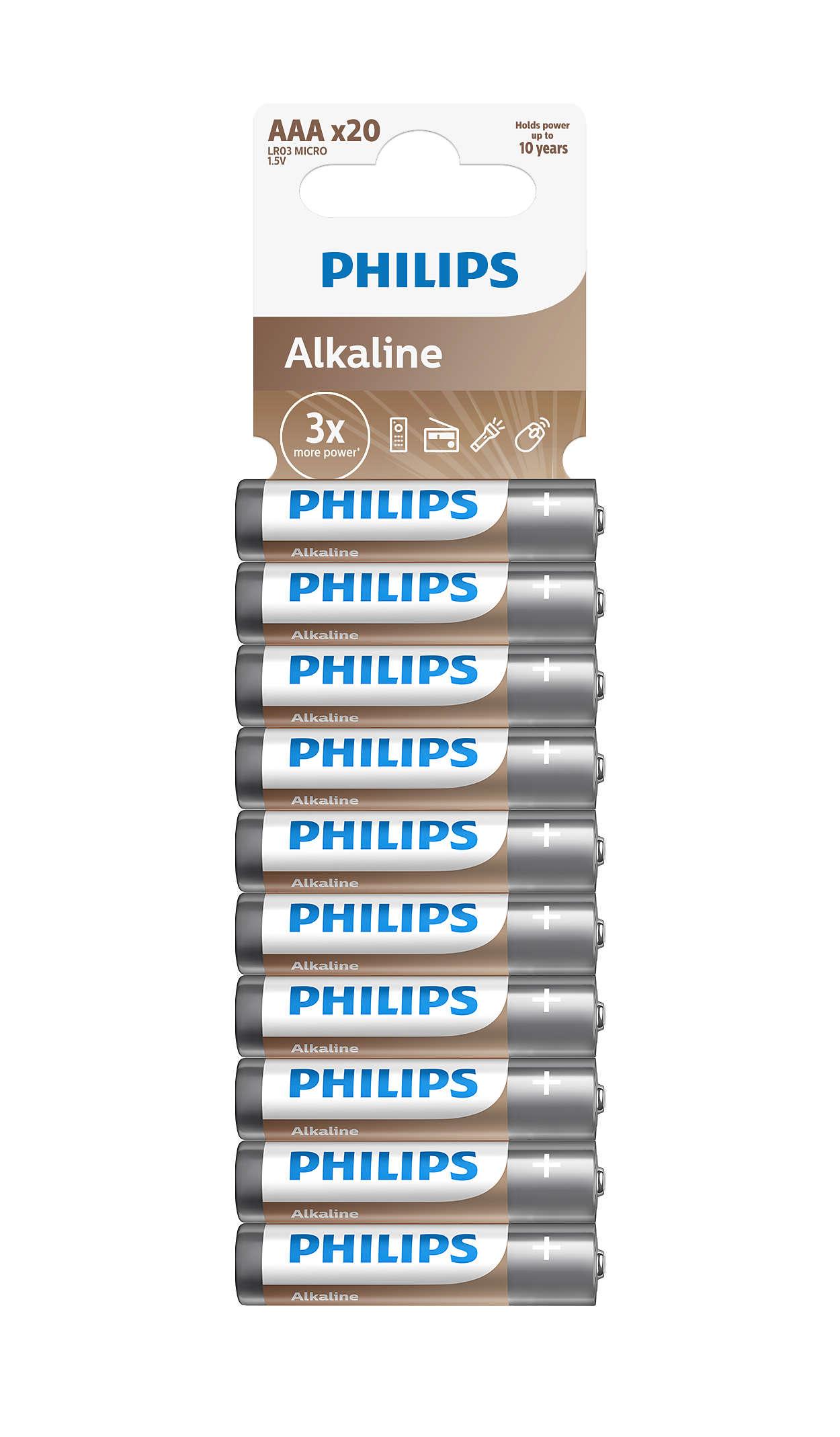 A tecn. alcalina é ideal se os dispositivos gastam muita energia.