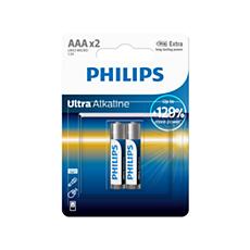 LR03E2B/10 Ultra Alkaline Batería