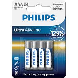 Ultra Alkaline Batterij