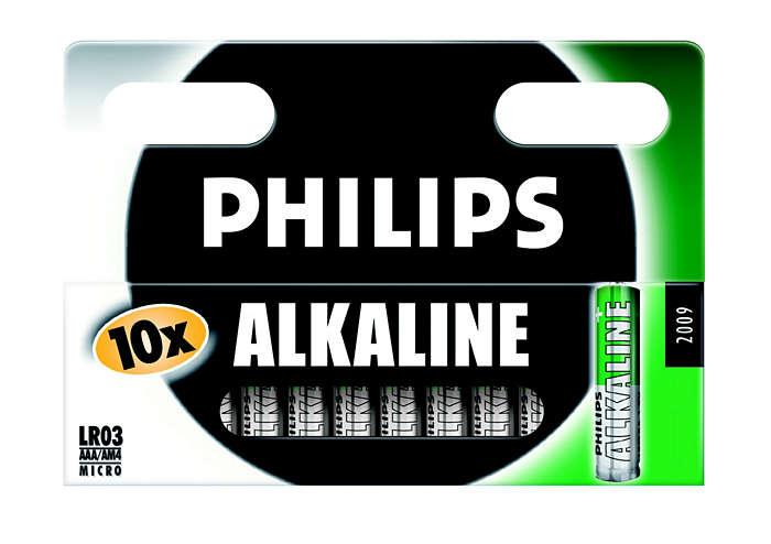 Klassiska alkaliska batterier