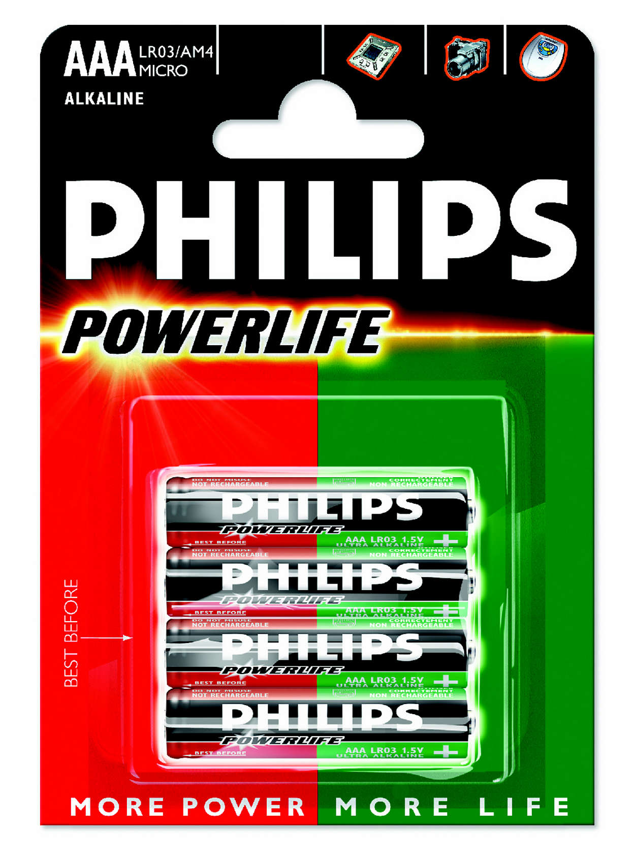 Powers all high energy consuming devices