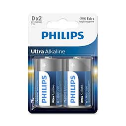 Ultra Alkaline Batteria