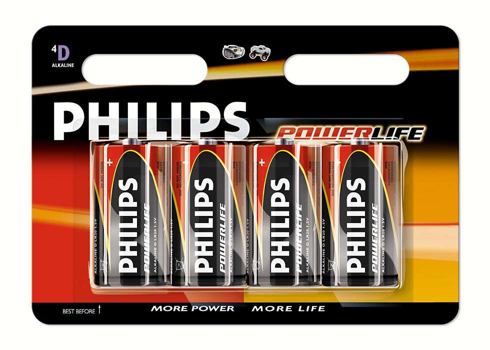 Forsyner alle kraftkrevende enheter med strøm