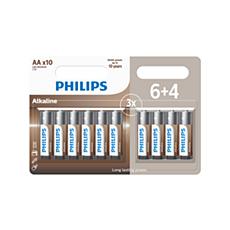 LR6A10BP/10 Power Alkaline Bateria