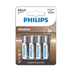 Power Alkaline Paristo