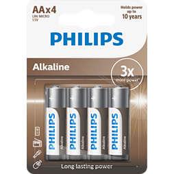 Power Alkaline Bateria