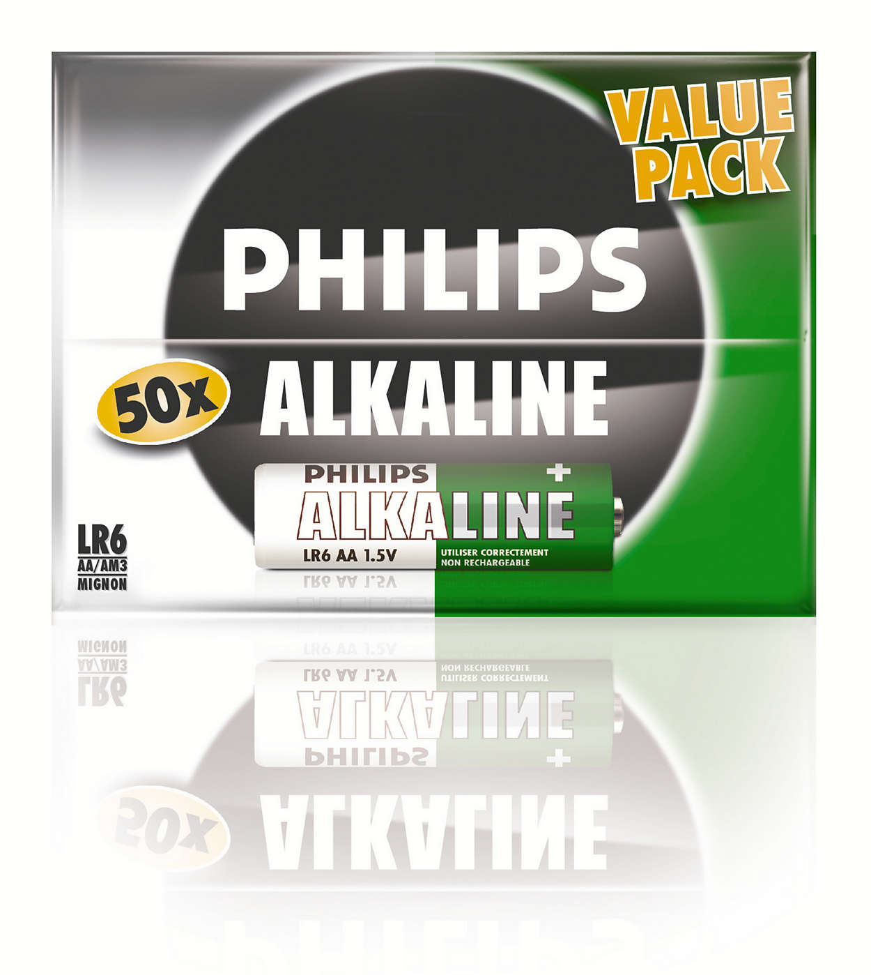Klassische Alkali-Batterien