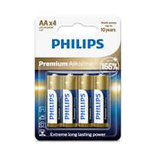 Baterías, cargador y linterna