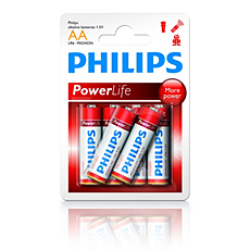 LR6P6B/10 PowerLife Batteri