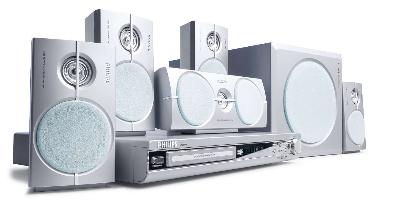 DVD home theater system LX3600D/69 | Philips