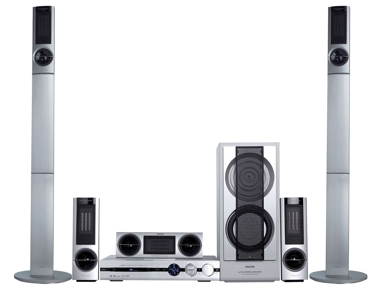 DVD/SACD home theatre system LX8200SA/22S | Philips