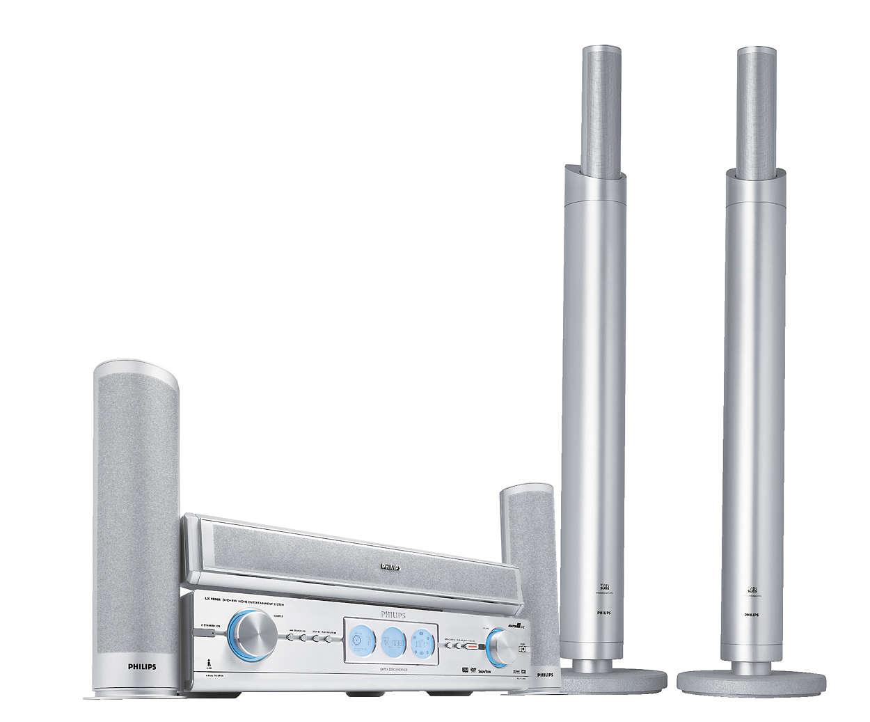 Última tecnología en DVD, grabación y sonido