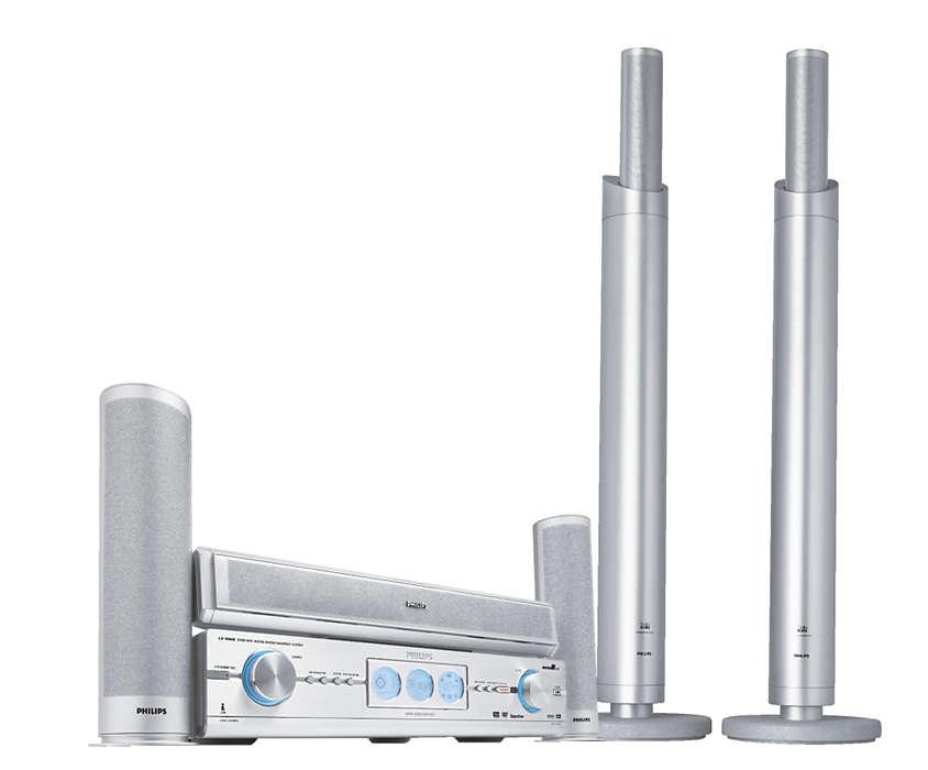 Najnovšia technológia v DVD nahrávaní a zvuku