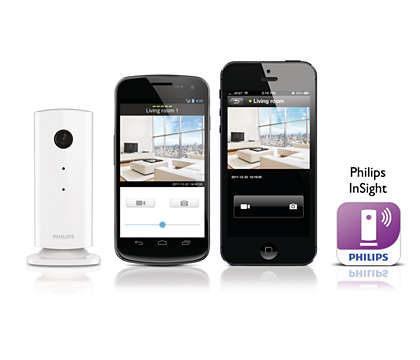 Watch over your home from your smartphone/tablet