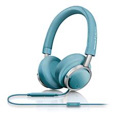 M1BL/00 - Philips Fidelio  On ear headphones with mic