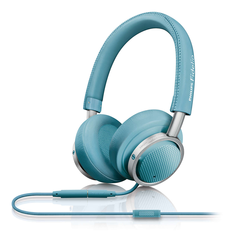 高傳真的優質音效,隨時隨地享受好音樂。
