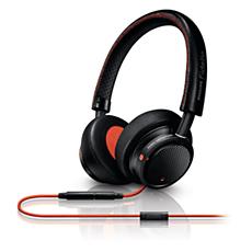 M1BO/00 - Philips Fidelio  Headset voor op het oor met hoofdband