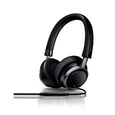 M1MKIIBK/00 Philips Fidelio Headphones with mic