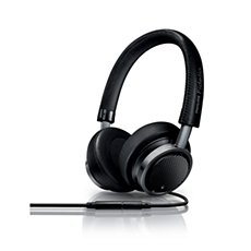 M1MKIIBK/00 - Philips Fidelio  Hoofdtelefoons met microfoon