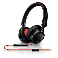 M1MKIIBO/00 - Philips Fidelio  Hodetelefoner med mikrofon