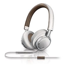 M1WT/00 - Philips Fidelio  Headset voor op het oor met hoofdband