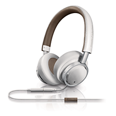 M1WT/00 Philips Fidelio On-ear-headset med huvudband