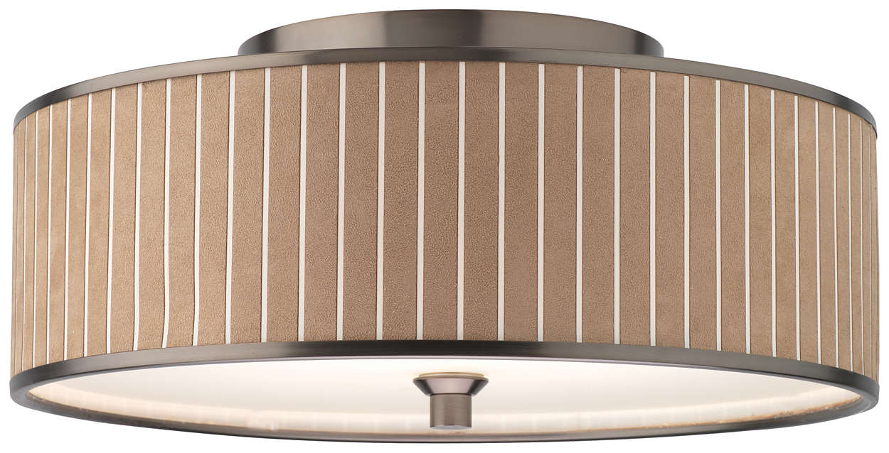 Haberdasher 3-light Ceiling in Oiled Bronze finish