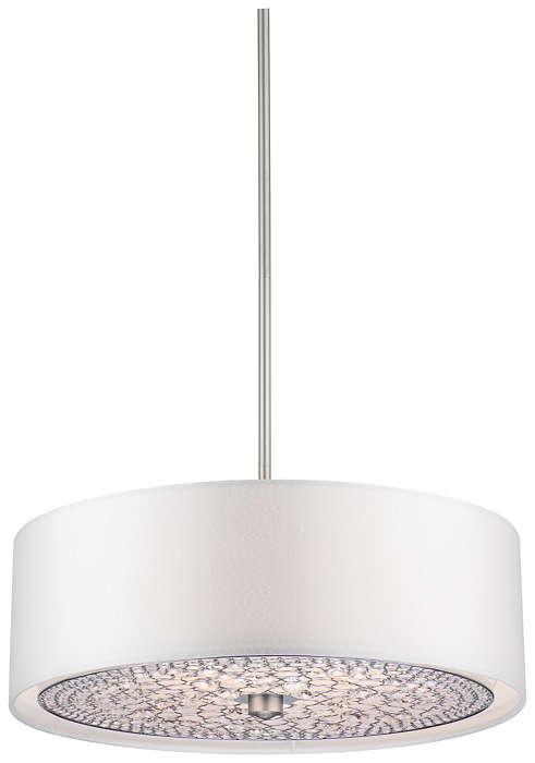 Pavo 3-light Pendant in Brushed Nickel finish