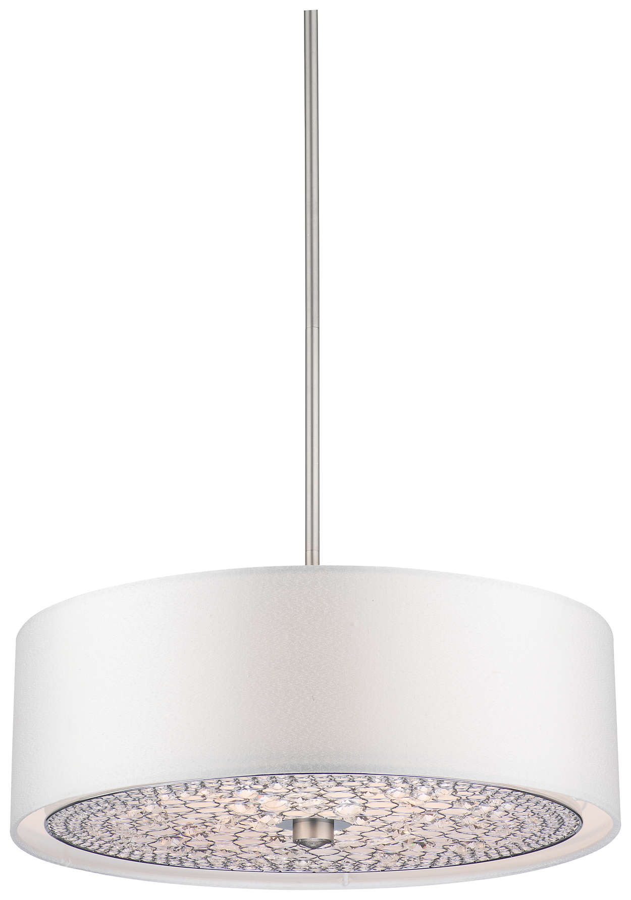 Pavo 3-light Pendant in Brushed Nickel finish
