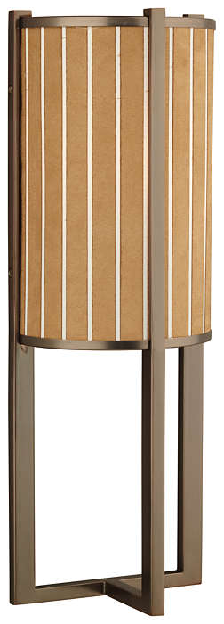 Haberdasher 1-light Bath in Oiled Bronze finish