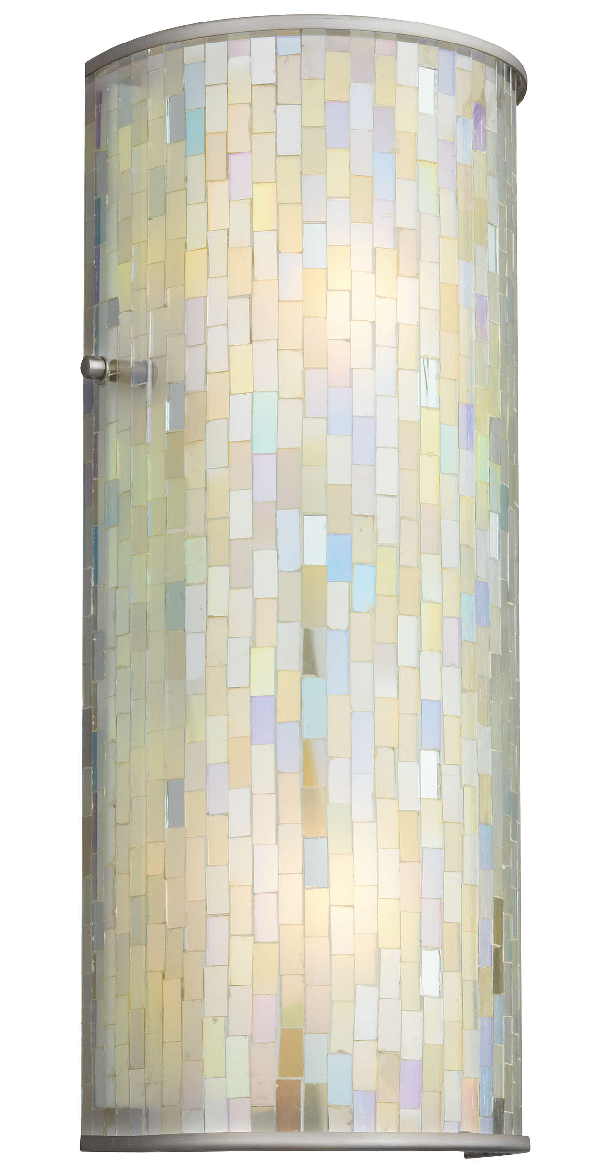 Mosaico 2-light Bath in Brushed Nickel finish