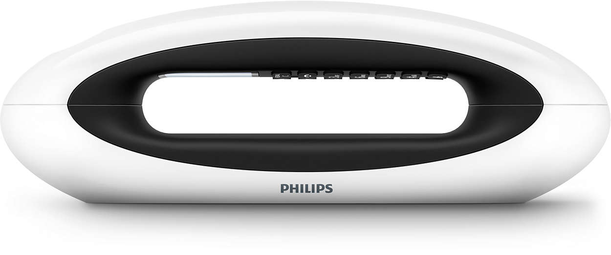 t l phone fixe sans fil design mira m5601wg fr philips. Black Bedroom Furniture Sets. Home Design Ideas