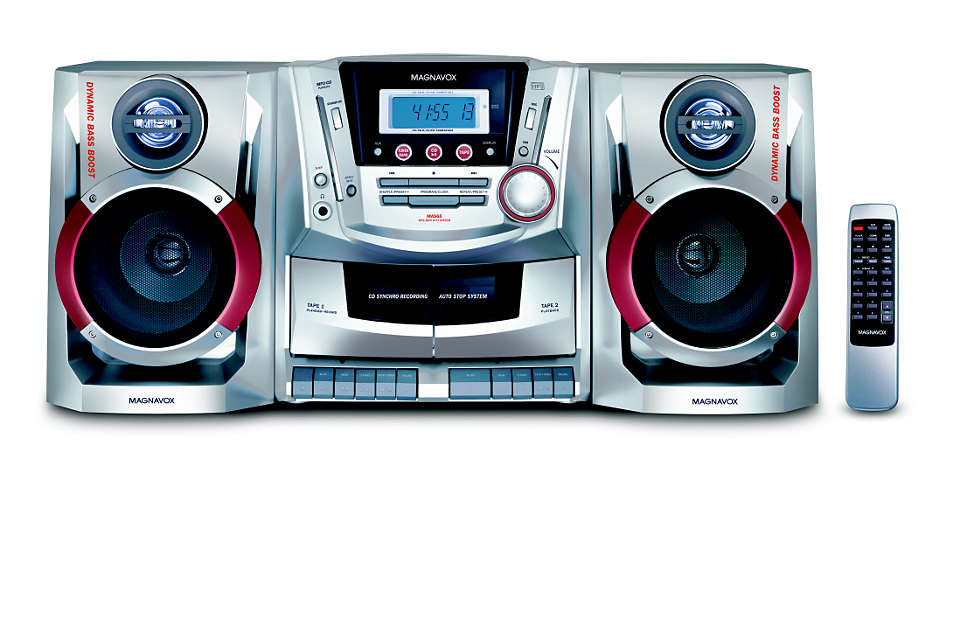 Reprodução de CD de MP3