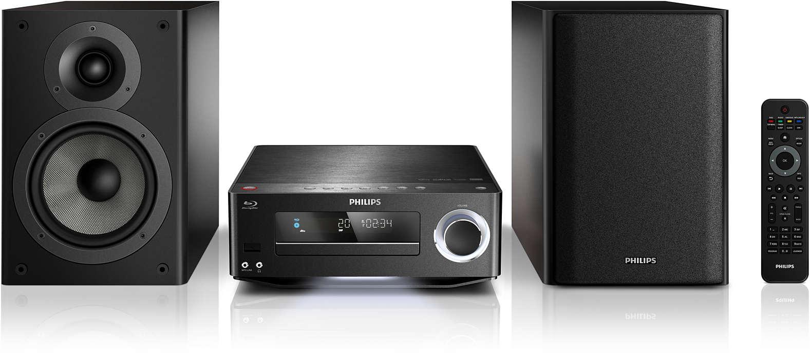 Mėgaukitės aukštos kokybės muzikos ir filmų garsu