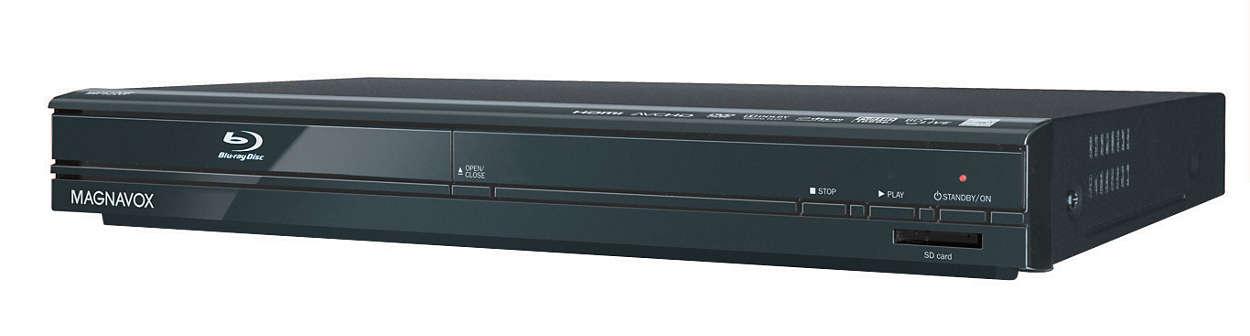 Lecteur de disques Blu-ray avec services réseau