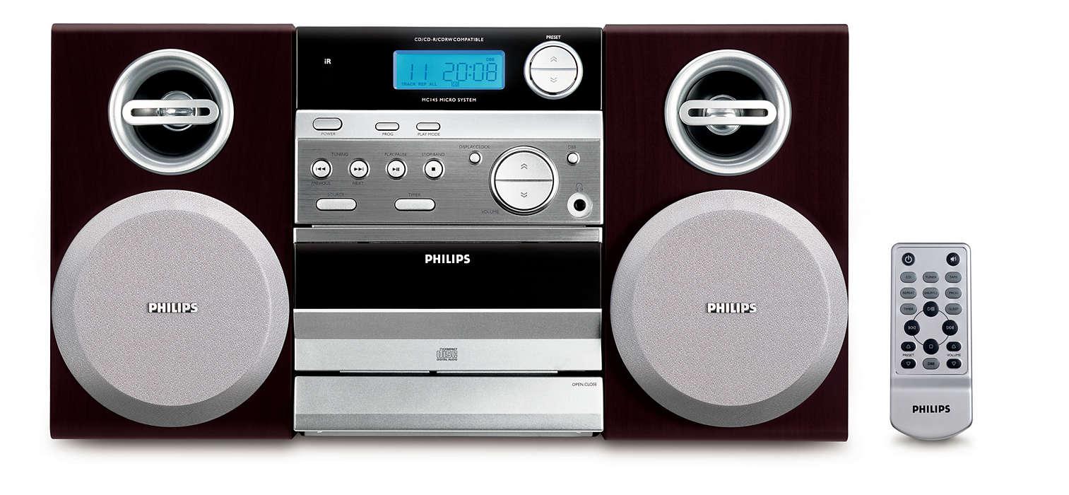 Sunet de excepţie şi design compact