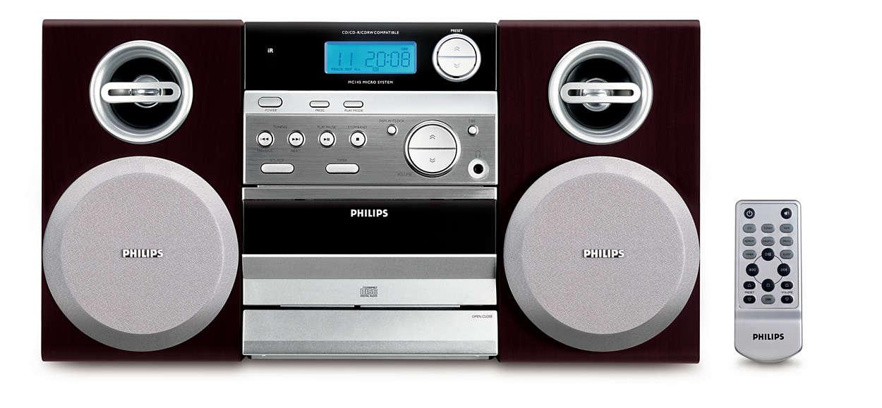 Veľký zvuk a kompaktný dizajn