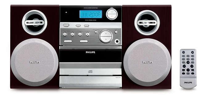 Fantastiskt ljud och kompakt design