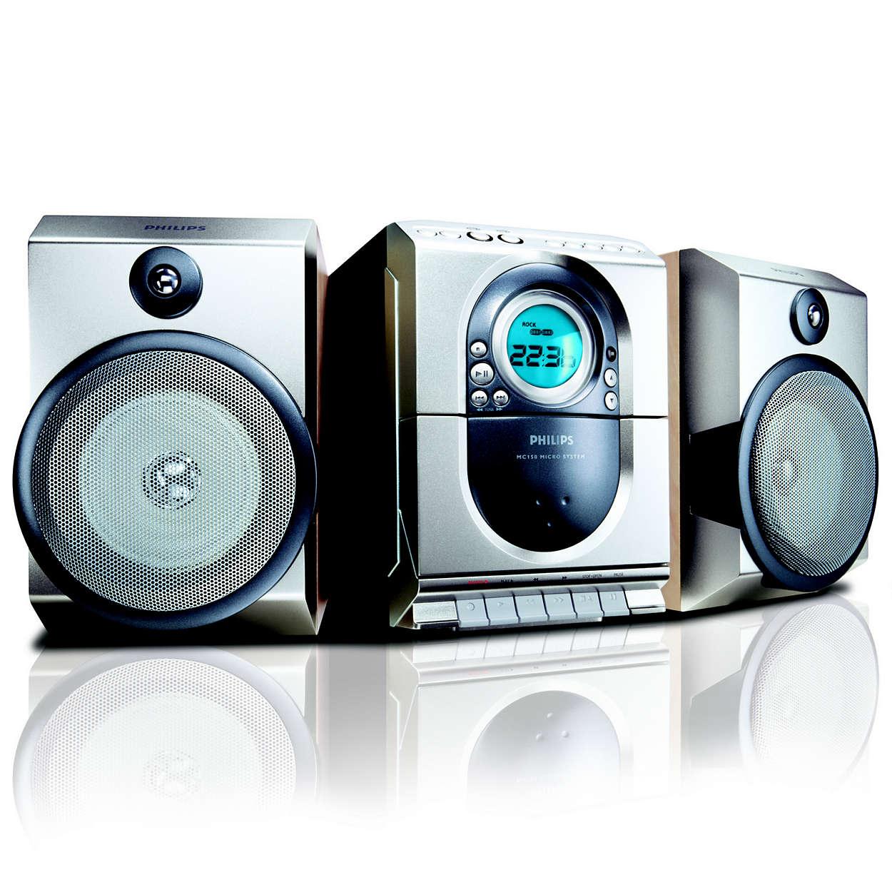Philips Micro Hi-Fi System MC150