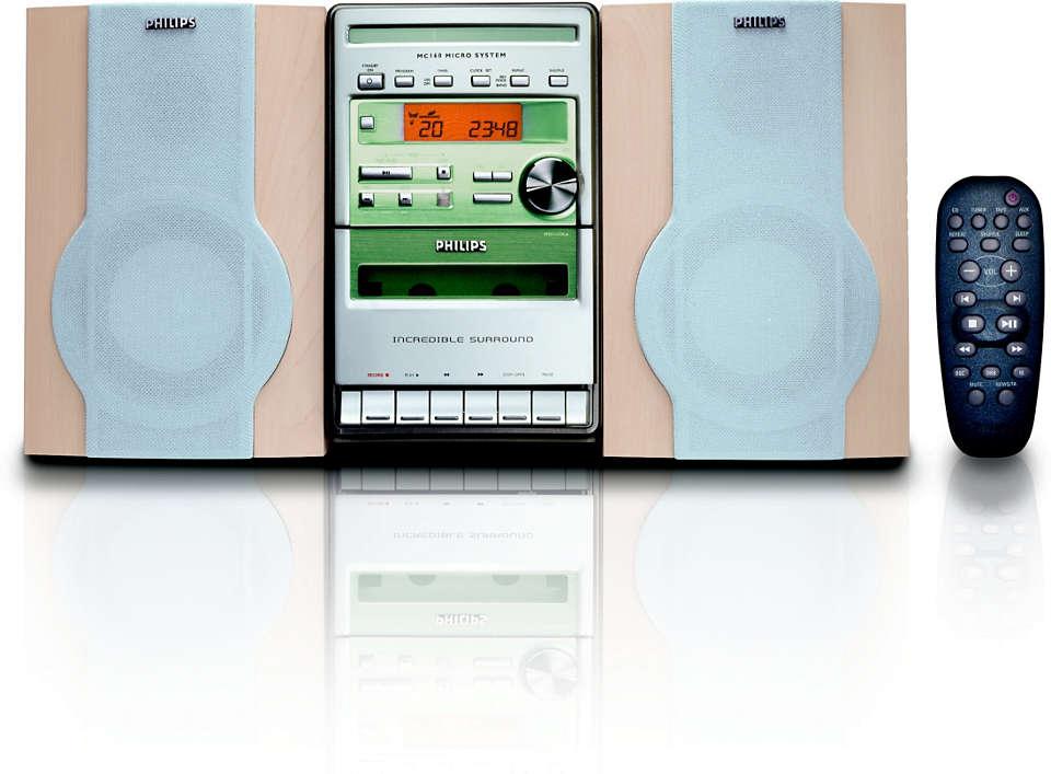 Configurações de som personalizadas