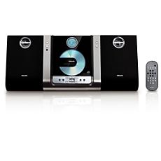 MC235B/05  Sleek micro sound system